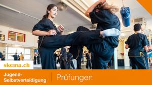 Prüfungen Jugend-Selbstverteidigung(Kung Fu)