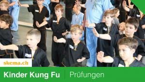 Prüfungen Kinder Kung Fu