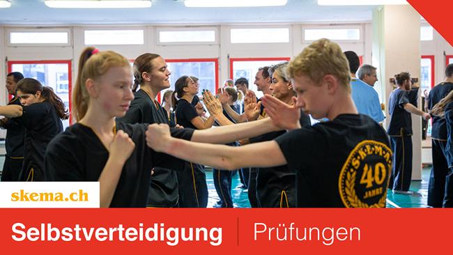 Prüfungen Selbstverteidigung(Wing Chun Kung Fu & Eskrima)